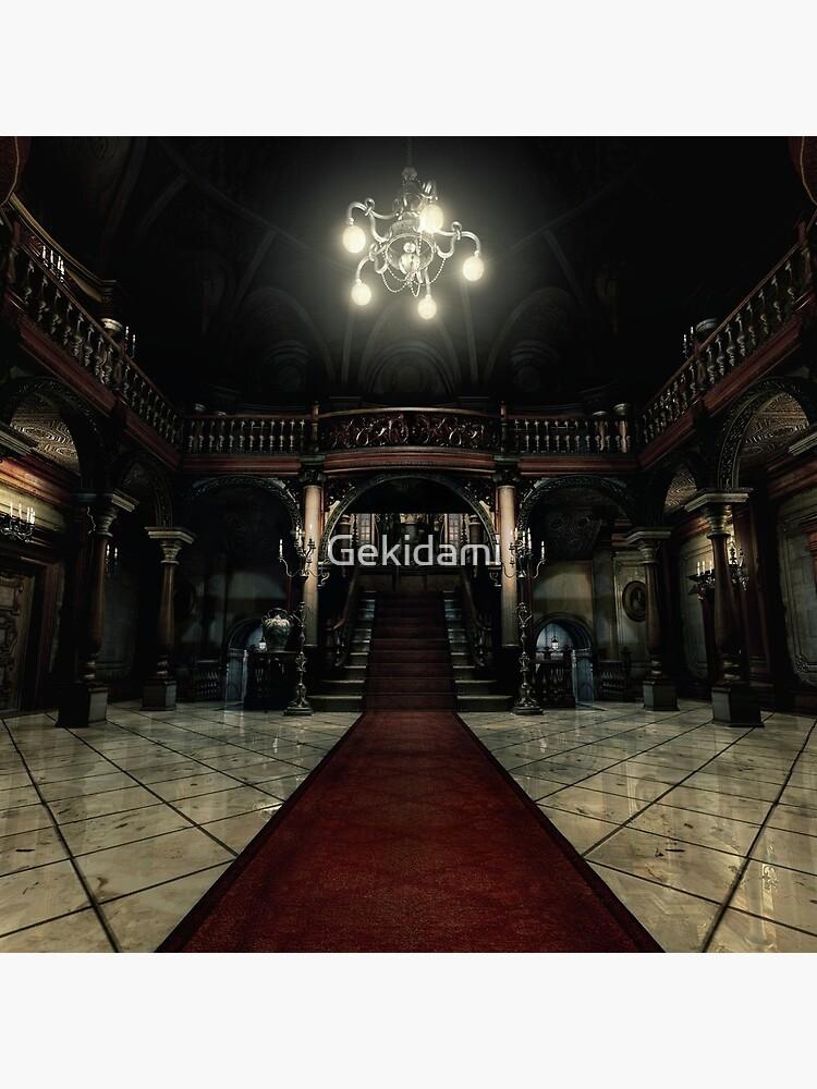 Resident Evil - Arklay Hall by Gekidami