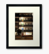 Coloured Doors Framed Print