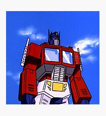 Optimus Prime Photographic Print