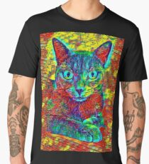 CAT COLORFUL Männer Premium T-Shirts
