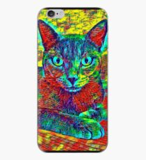 CAT COLORFUL iPhone-Hülle & Cover