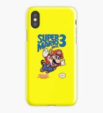 Super Mario Bros 3 Box Art iPhone Case