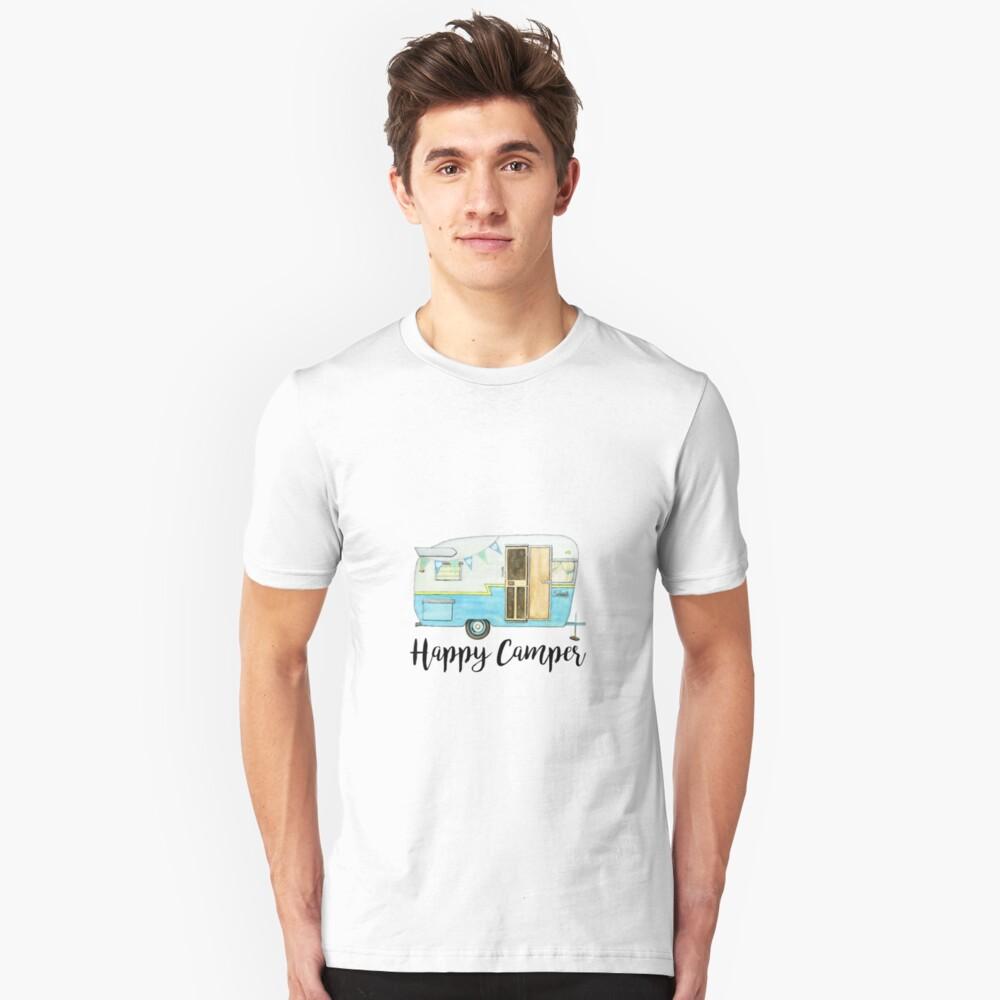 glücklicher Camper Slim Fit T-Shirt