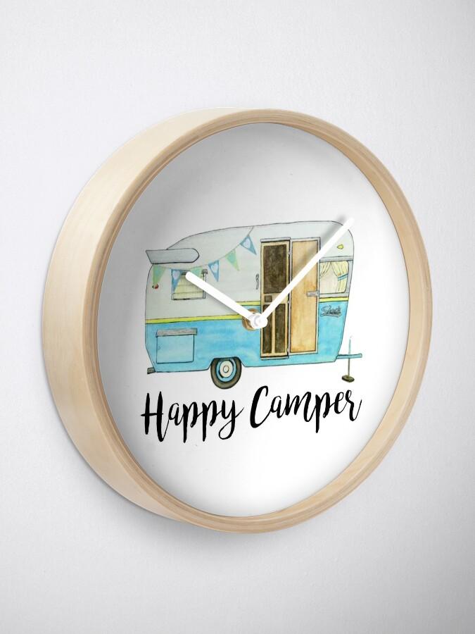 Alternative Ansicht von glücklicher Camper Uhr