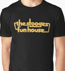Stooges Fun House Shirt Graphic T-Shirt