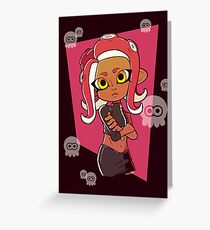 Octoling Greeting Cards Redbubble