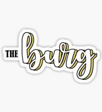 THE BURG Sticker