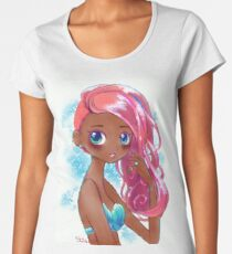 Cute Kawaii Mermaid Treasure L.O.L. Surprise Doll Shoujo Anime Fan Art Women's Premium T-Shirt