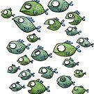 Fischschwarm - Fische - Schwarmfische von JunieMond