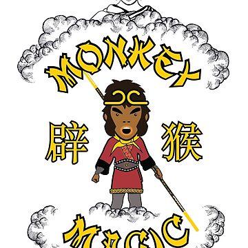 Golden Monkey Magic Budda by Purakushi