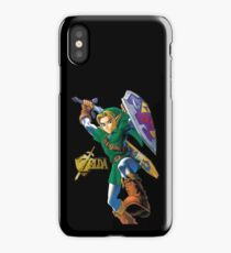 Zelda with Gold Title iPhone Case iPhone Case