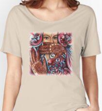 Henna Women's Relaxed Fit T-Shirt