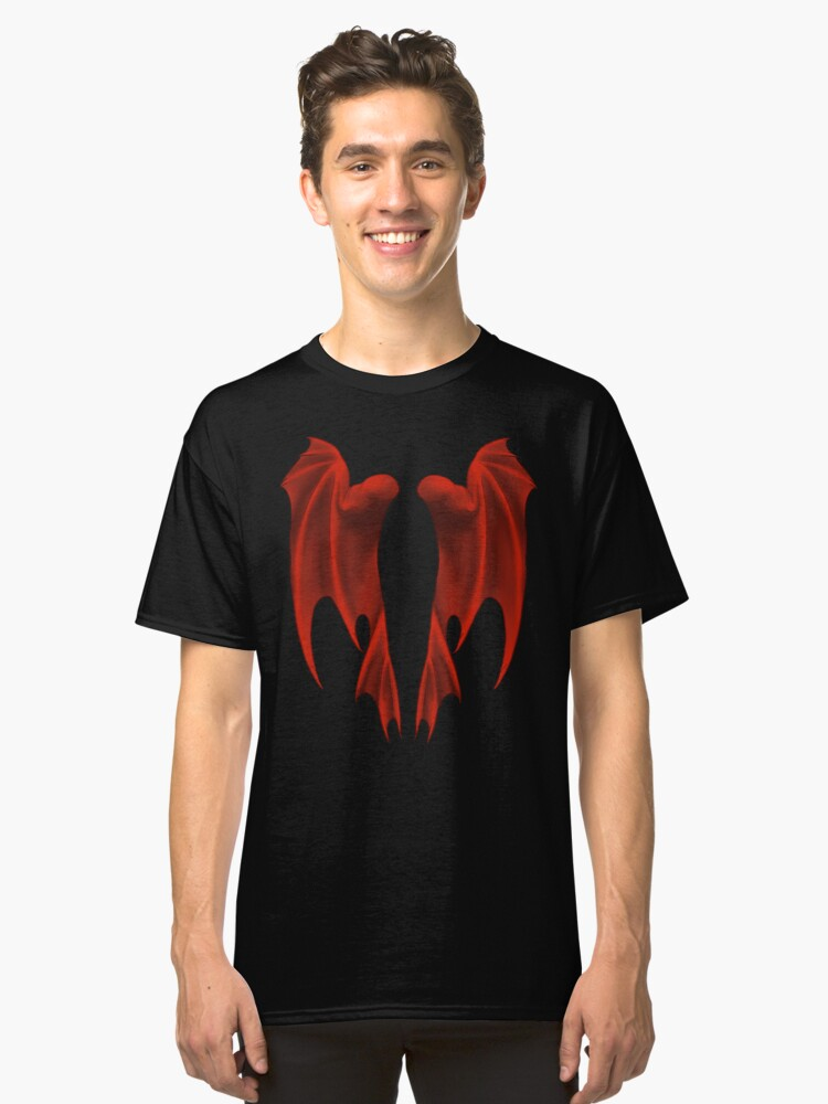Dragon Wings Classic T-Shirt Front