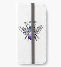 "Butch Lesbian ""Bee Yourself"" iPhone Wallet/Case/Skin"
