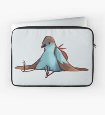 Tired Backpack Bird Laptop Sleeve