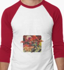 Camiseta ¾ bicolor para hombre Dungeons & Diners & Dragons & Drive-Ins & Dives: Imagen ligeramente más grande