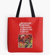 Bolsa de tela Dungeons & Diners & Dragons & Drive-Ins & Dives: Imagen ligeramente más grande