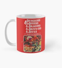 Dungeons & Diners & Dragons & Drive-Ins & Dives: Etwas größeres Bild Tasse (Standard)
