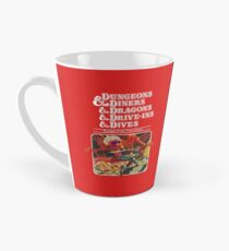Dungeons & Diners & Dragons & Drive-Ins & Dives: Slightly Larger Image Tall Mug