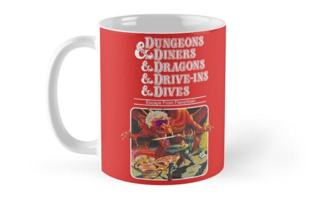 Dungeons & Diners & Dragons & Drive-Ins & Dives: Slightly Larger Image by Onion Powder