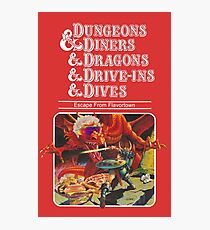 Lámina fotográfica Dungeons & Diners & Dragons & Drive-Ins & Dives: Imagen ligeramente más grande