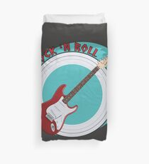 Save Rock 'n Roll Duvet Cover