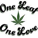 One Leaf One Love by RedEyeRow