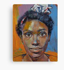 Portrait of Toni Canvas Print