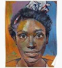 Portrait of Toni Poster