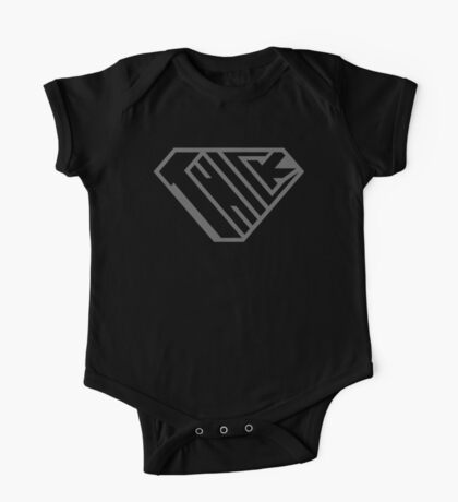 Thick SuperEmpowered (Black on Black) Kids Clothes