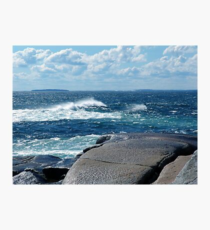 My Blue Ocean Photographic Print