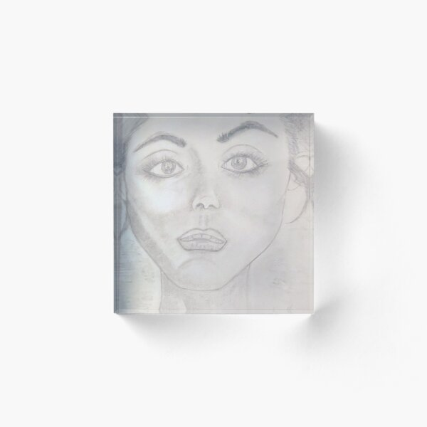 Every word, every action, every energy goes straight to my heart... Acrylic Block