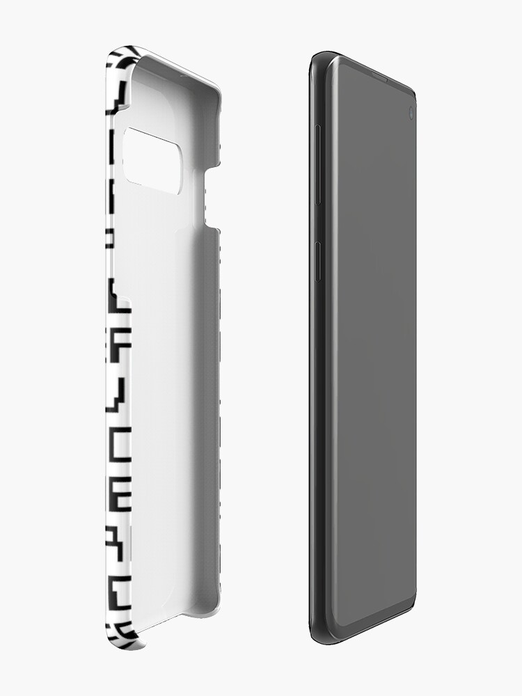 Alternate view of GAME OVER (black) Case & Skin for Samsung Galaxy