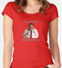 Dr Nowzaradan, A Legend Women's Fitted Scoop T-Shirt