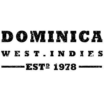 Dominica - West Indies Estd 1978 by identiti
