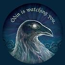 Odin is Watching You by Ingrid  Kallick