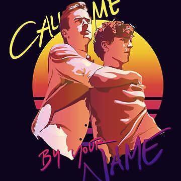 Call Me by Your Name Retro Sunset by reymustdie