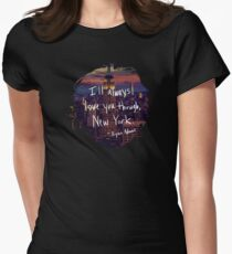 Love, New York Women's Fitted T-Shirt