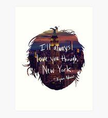 Love, New York Art Print