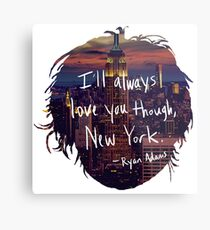 Love, New York Metal Print
