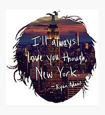 Love, New York Photographic Print