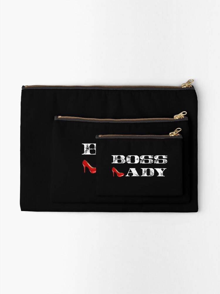 Alternative Ansicht von Boss Lady Hemd, Boss Lady rotes Stilett, Boss T-Shirt Täschchen