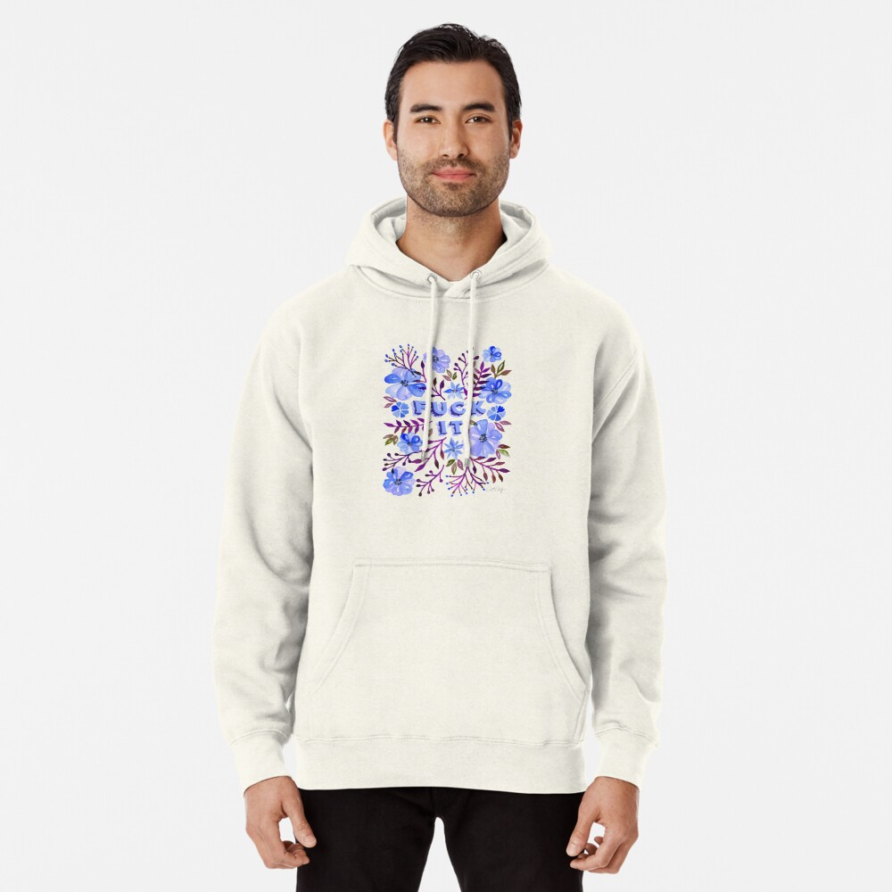 F*ck It – Blueberry Palette Pullover Hoodie