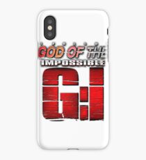I follow GOD of the Impossible, T Shirts belive iPhone Case