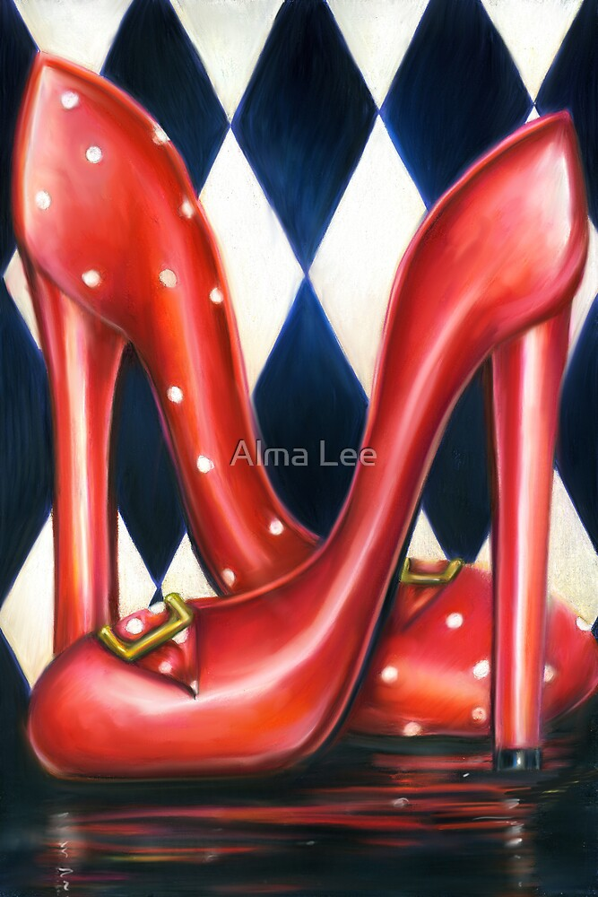 Red Shoe Required by Alma Lee