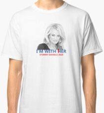 i'm with her stormy Classic T-Shirt