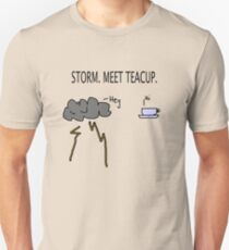 Storm. Meet Teacup. Slim Fit T-Shirt