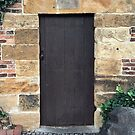 Doorway to Captain Cook's Cottage by Evelyn Hood