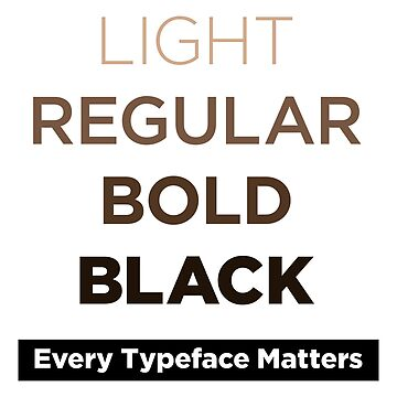 """Every Typeface Matters"" by vertigocreative"