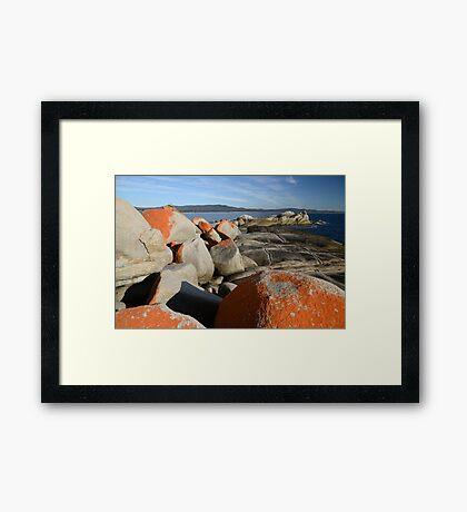 Bay of Fires 2 Framed Print